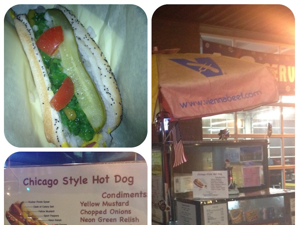 Late Night Hot Dog Stand In SOMA  San Francisco California United States