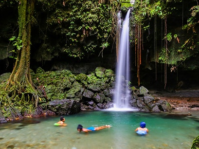 Emerald Pool Emerald Pool  Dominica