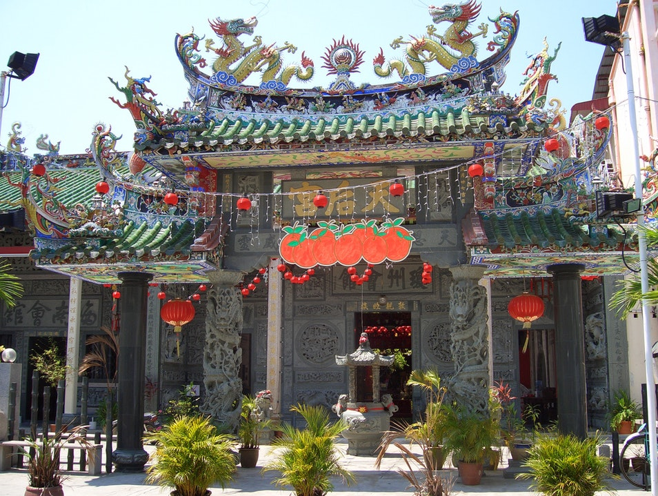 Visit a Village Temple Lingshui  China