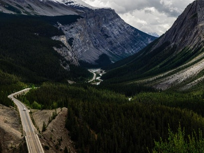 Icefield Parkway Jasper  Canada
