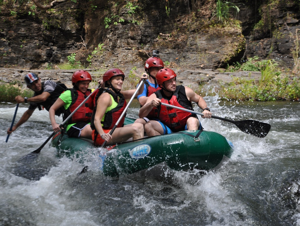 Rafting the Rio Tenorio