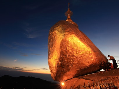 Kyaikhteeyoe Pagoda Thaton District  Myanmar