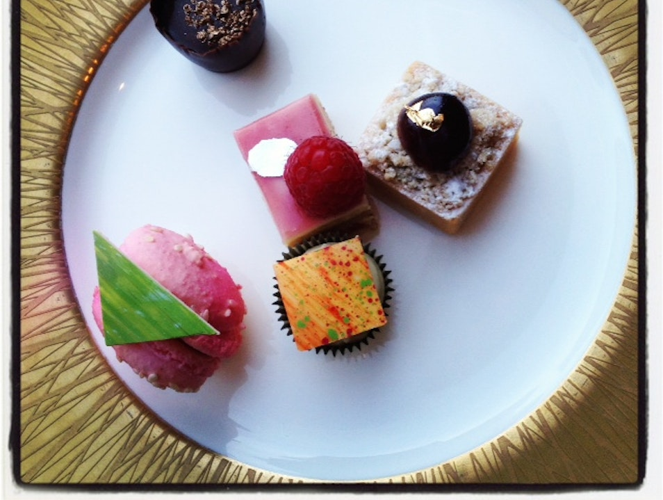 High Tea at Mandarin Oriental Las Vegas Nevada United States