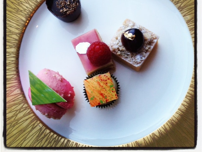 High Tea at Mandarin Oriental
