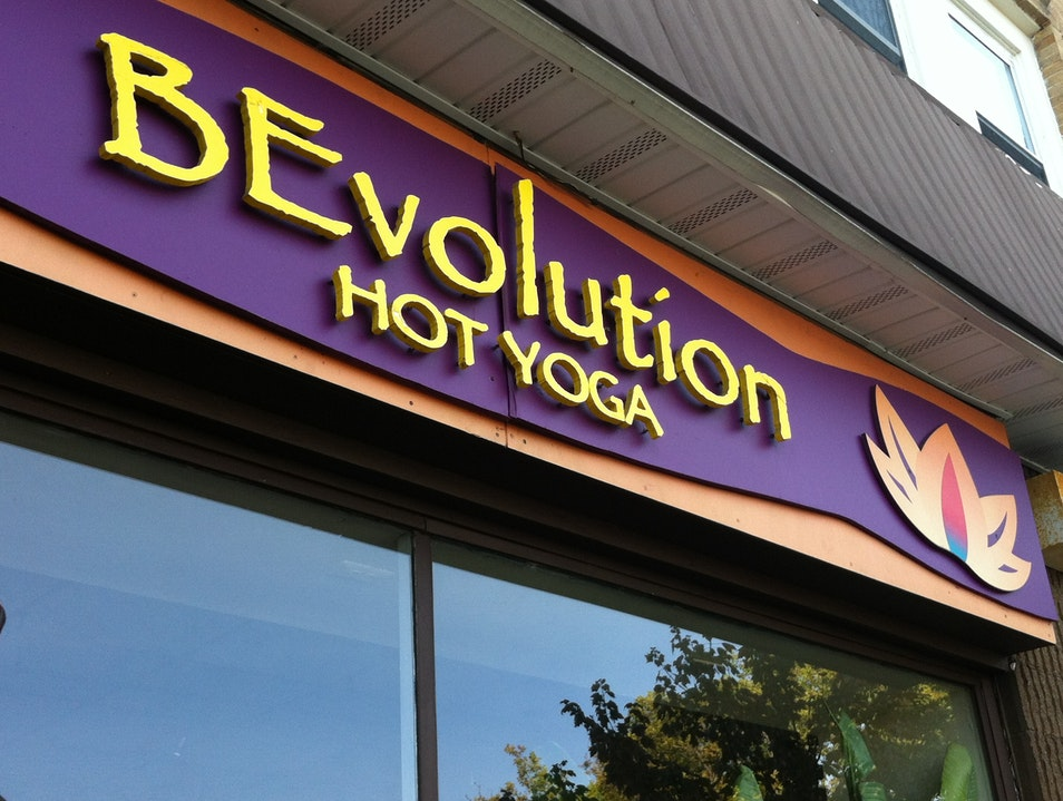 Hot Yoga for the Hottest Cosmic Flower Montclair New Jersey United States