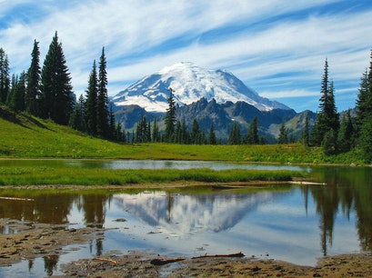 Mount Rainier National Park Enumclaw Washington United States