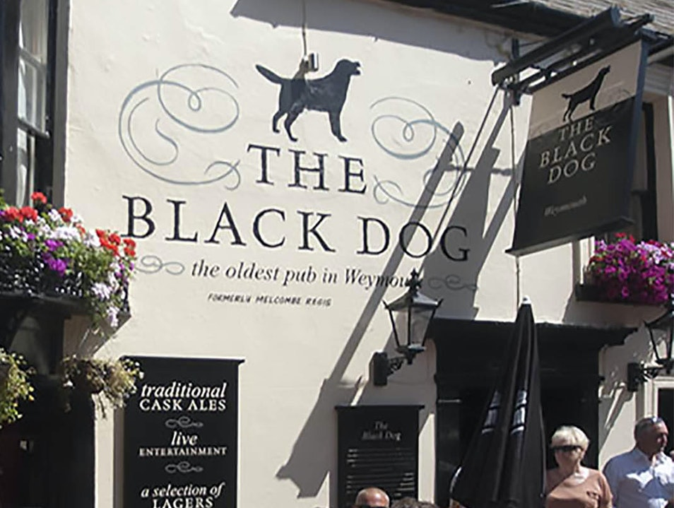 The Black Dog Pub Weymouth  United Kingdom
