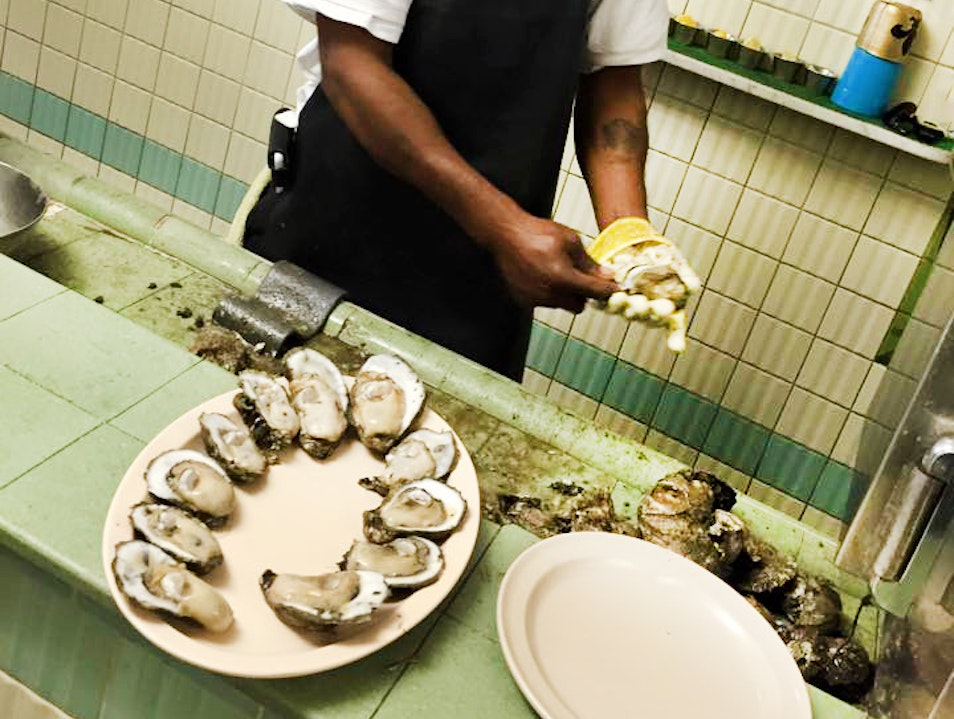 Oysters! New Orleans Louisiana United States