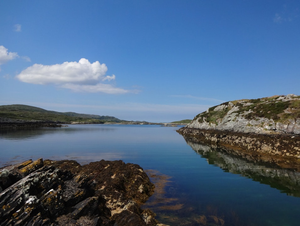 Tranquil and crystal clear waters Beara Peninsula Cork  Ireland
