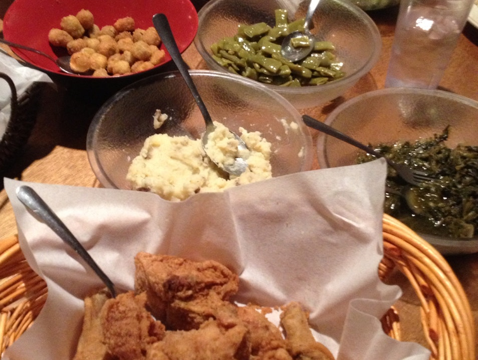 Charming Southern Family-Style Meal