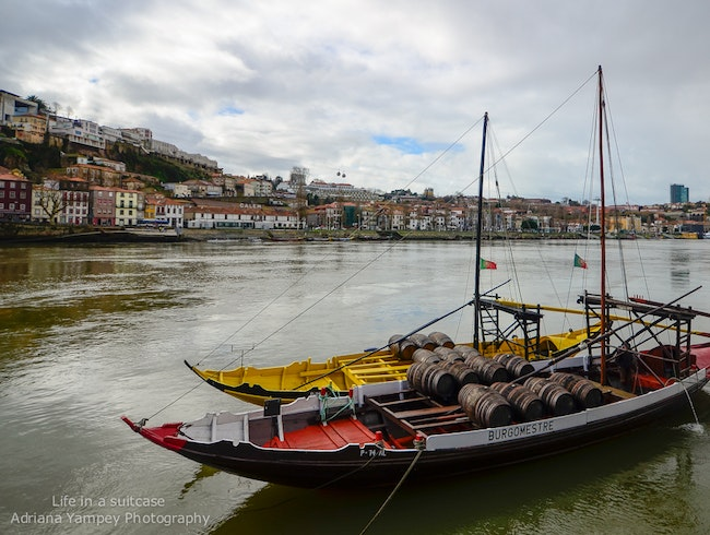 Traditional Portuguese boats