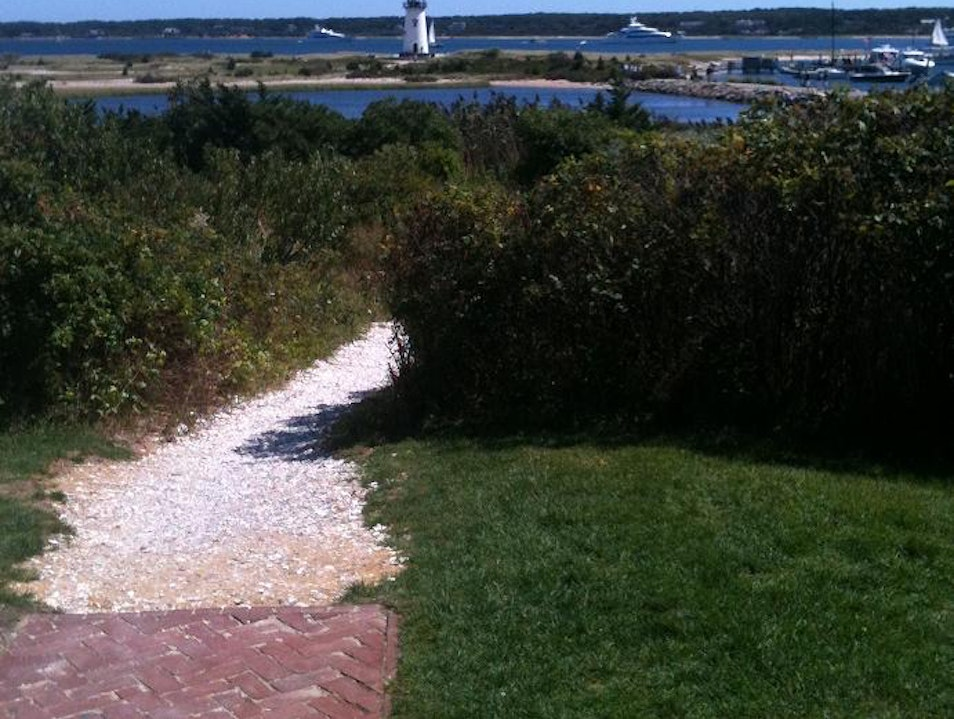 Path to Edgartown Lighthouse