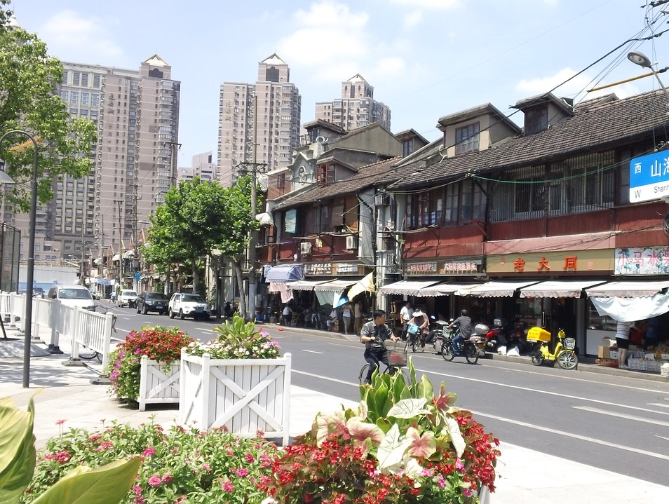 Old City, New City- Shanghai