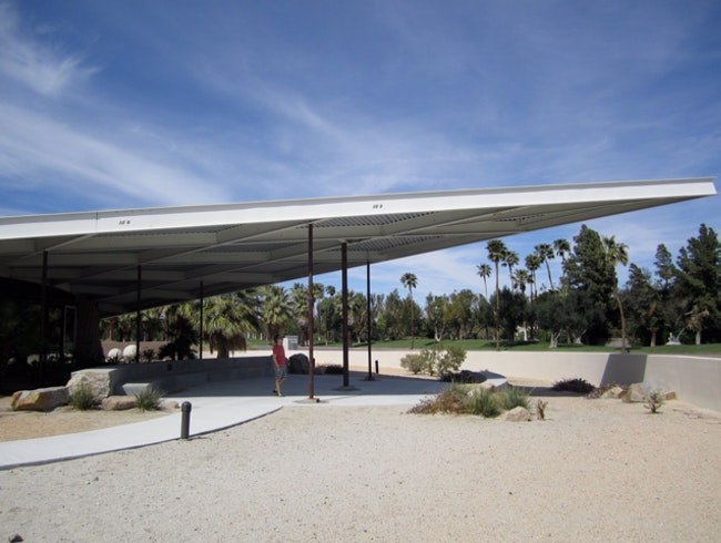 See the Historic Palm Springs Tramway Gas Station