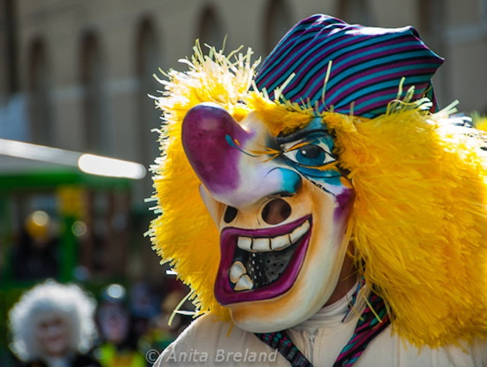 Basel Fasnacht--Who's Who? Basel  Switzerland