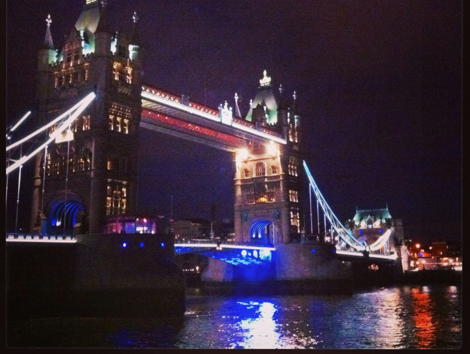 Tower Bridge by Night London  United Kingdom