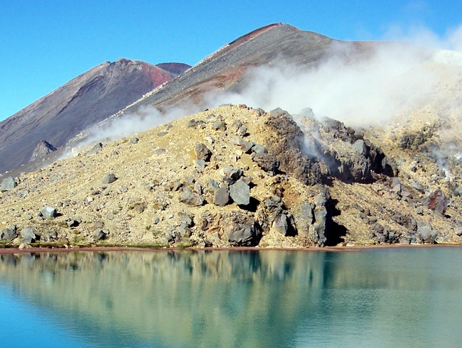 Secret to the Tongariro Crossing