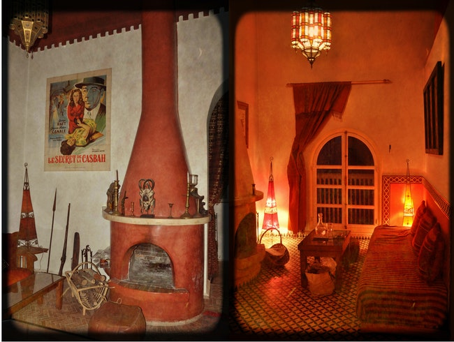 Is it a cozy riad or a fantastic art gallery?