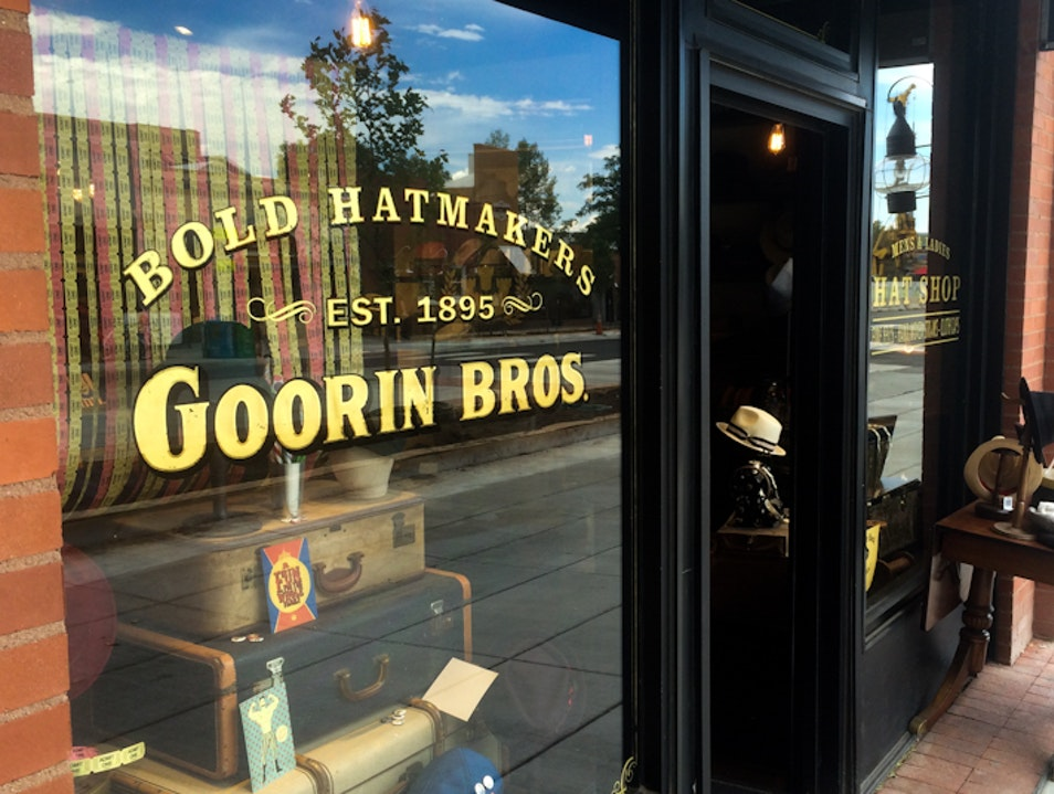 Boulder's Branch of Goorin Brothers Fine Hand-crafted Hats Boulder Colorado United States
