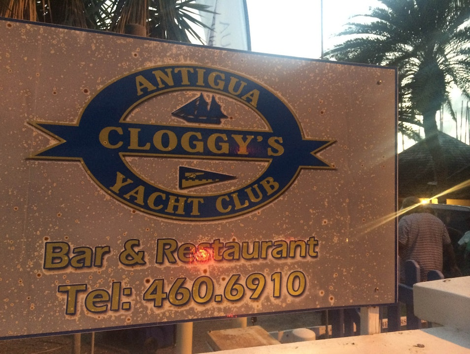 Take a Break from Sailing at Cloggy's Falmouth  Antigua and Barbuda