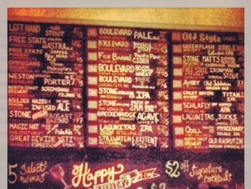 Locally Sourced Food and a Great Beer List