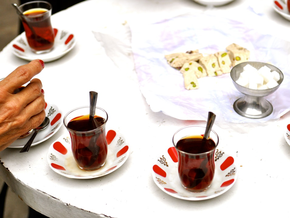 Pause Frequently for Tea Istanbul  Turkey
