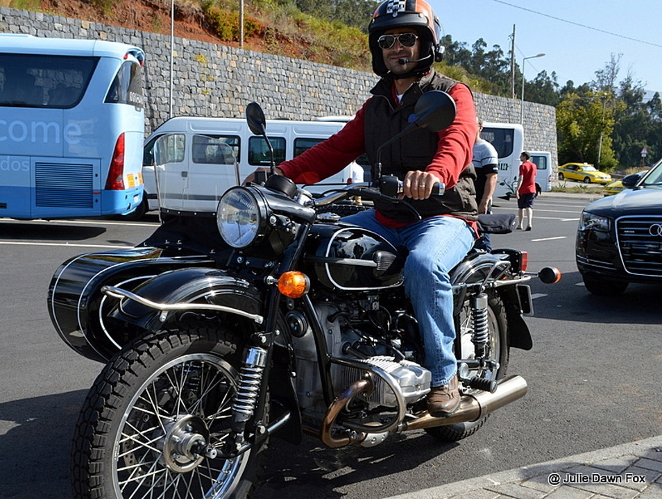 Exploring Madeira by Sidecar Funchal  Portugal