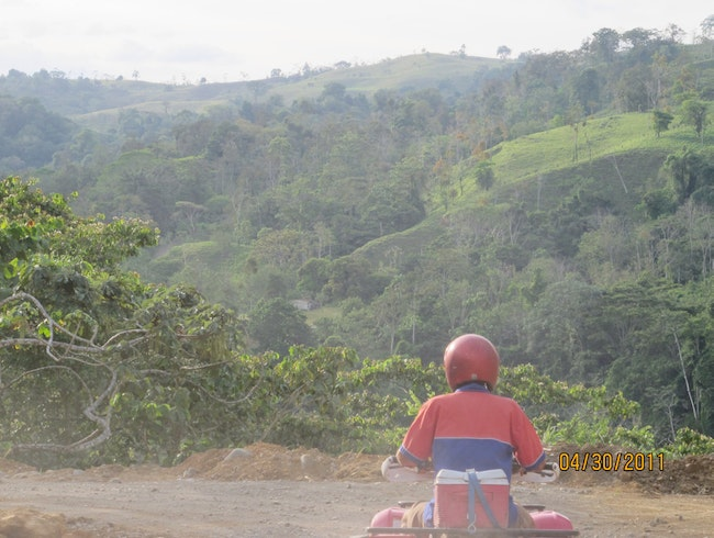 ATV-ing Across The Countryside In Arenal