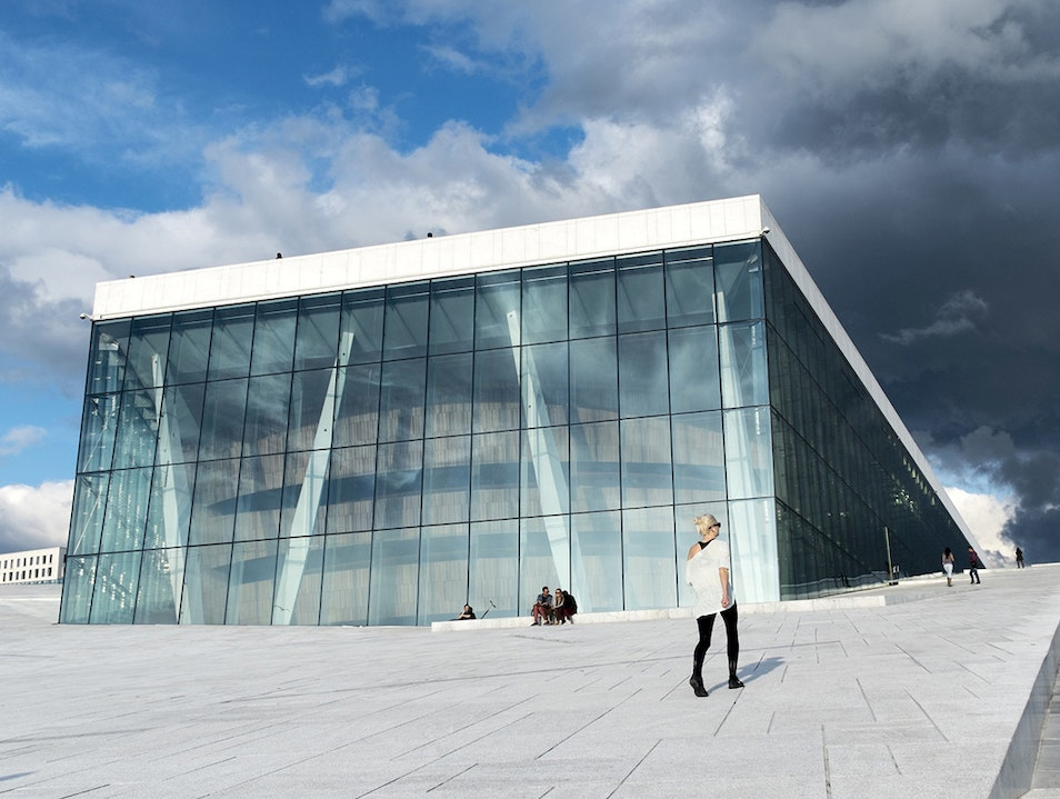 Oslo Opera House Oslo  Norway