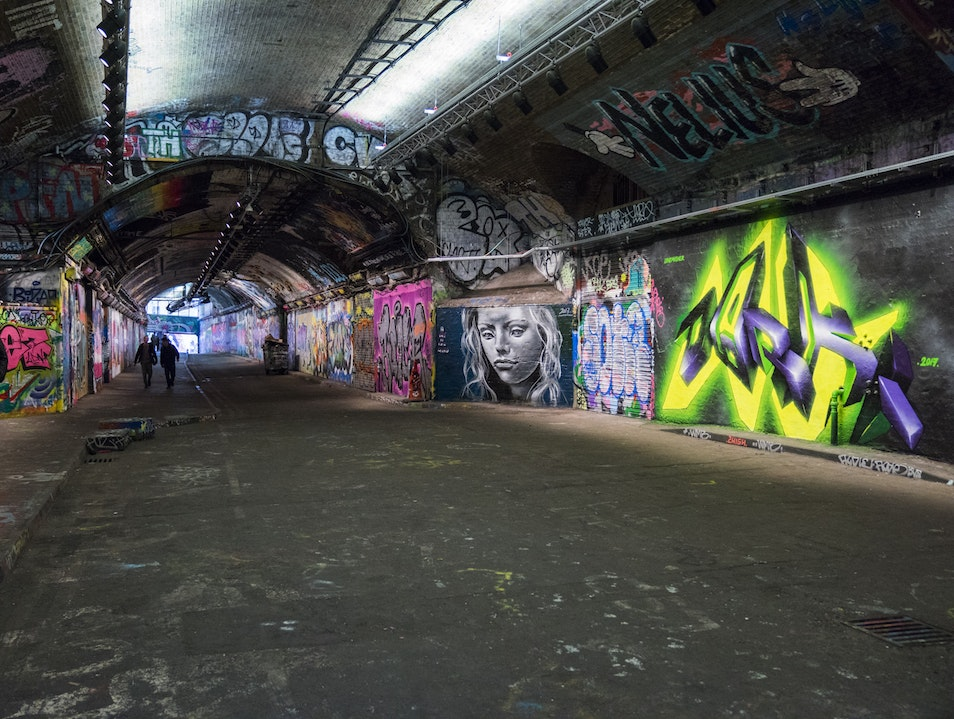 Banksy Tunnel London  United Kingdom