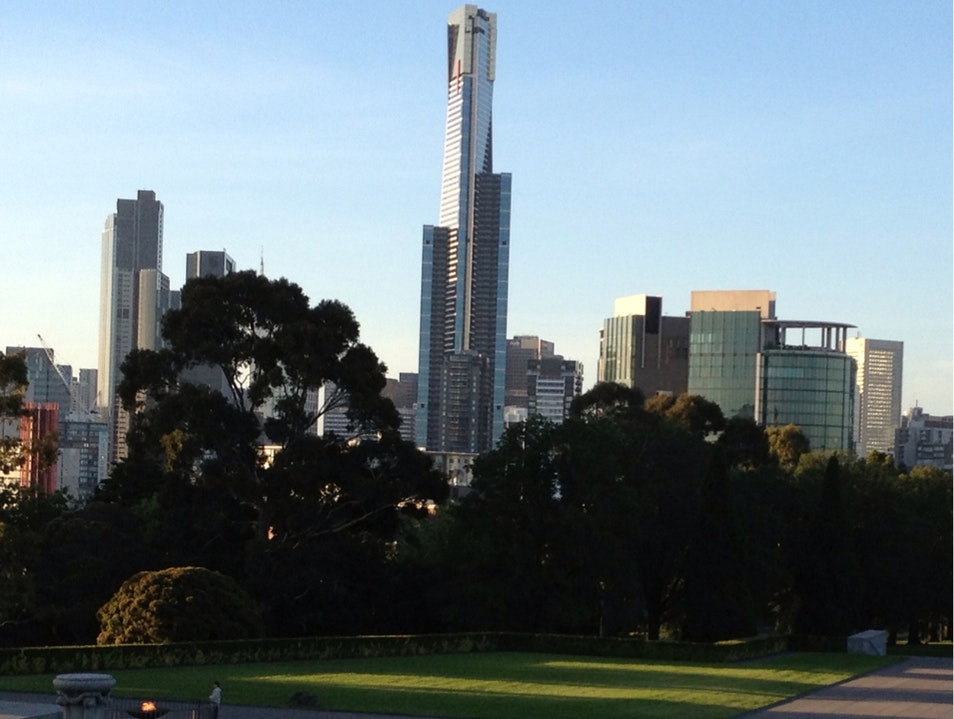 Nice View of the CBD Melbourne  Australia