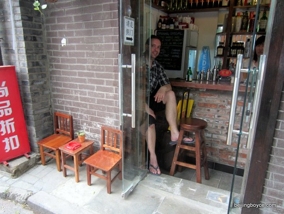 The Smallest Bar in Beijing Beijing  China