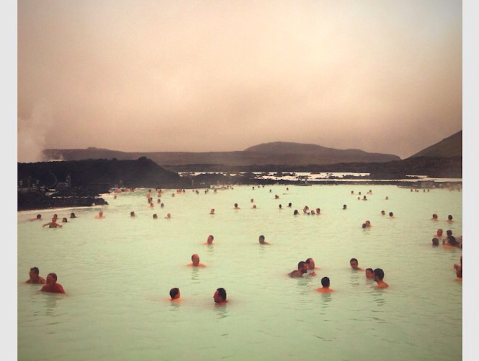In The Blue Lagoon Northwest  Iceland