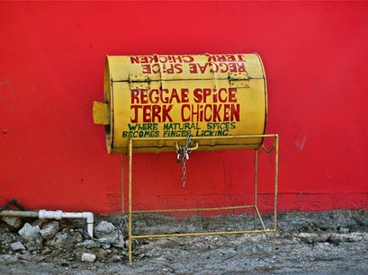 Reggae Spice Jerk Chicken Kingston  Jamaica
