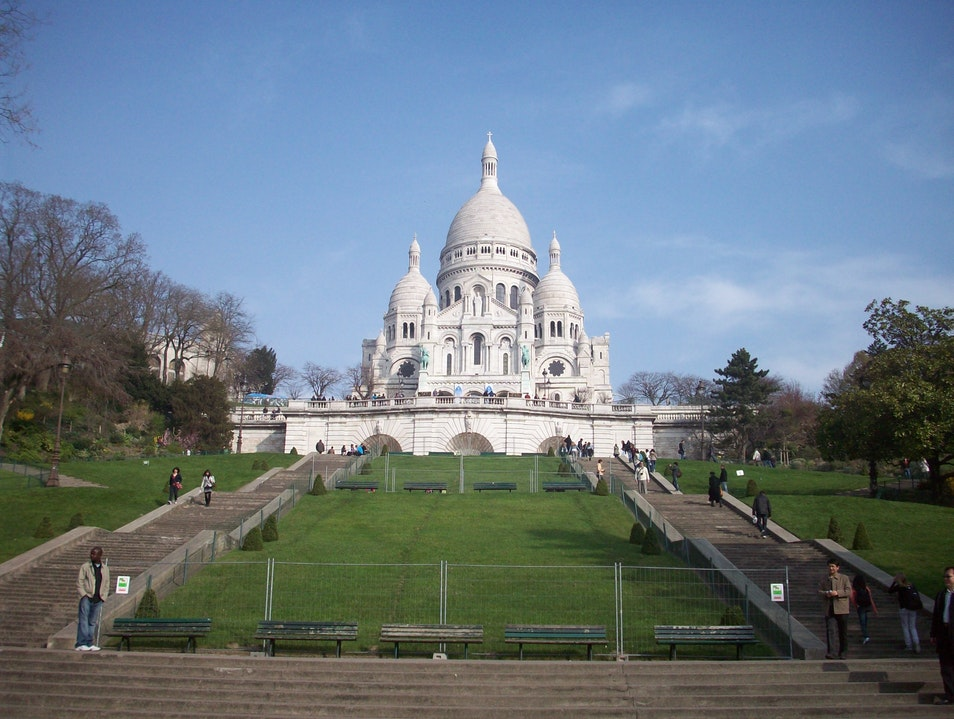 Basilique du Sacre Coeur Paris  France