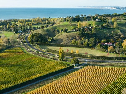 Hawke's Bay Wineries Poukawa  New Zealand