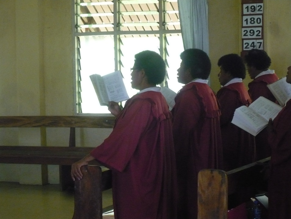 Beautiful Fijian Church Choirs Nadi  Fiji