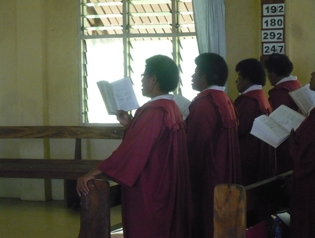 Beautiful Fijian Church Choirs