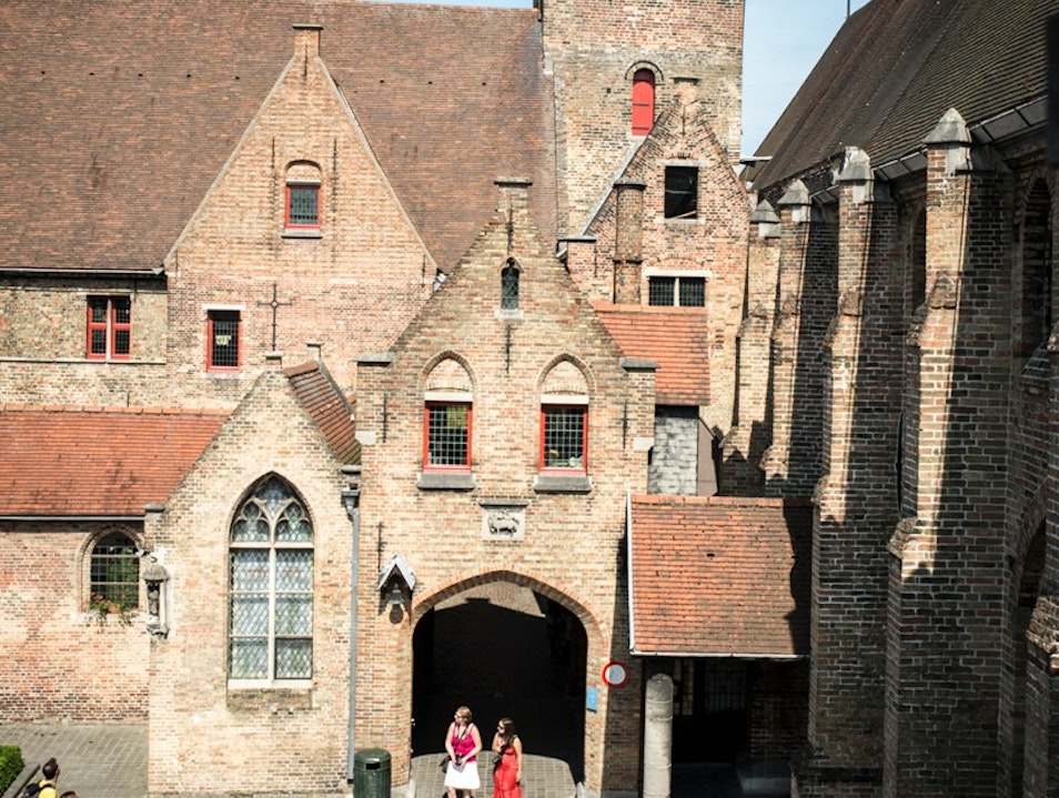 Visit the Old Hospital St. John/ Memling Museum Bruges  Belgium