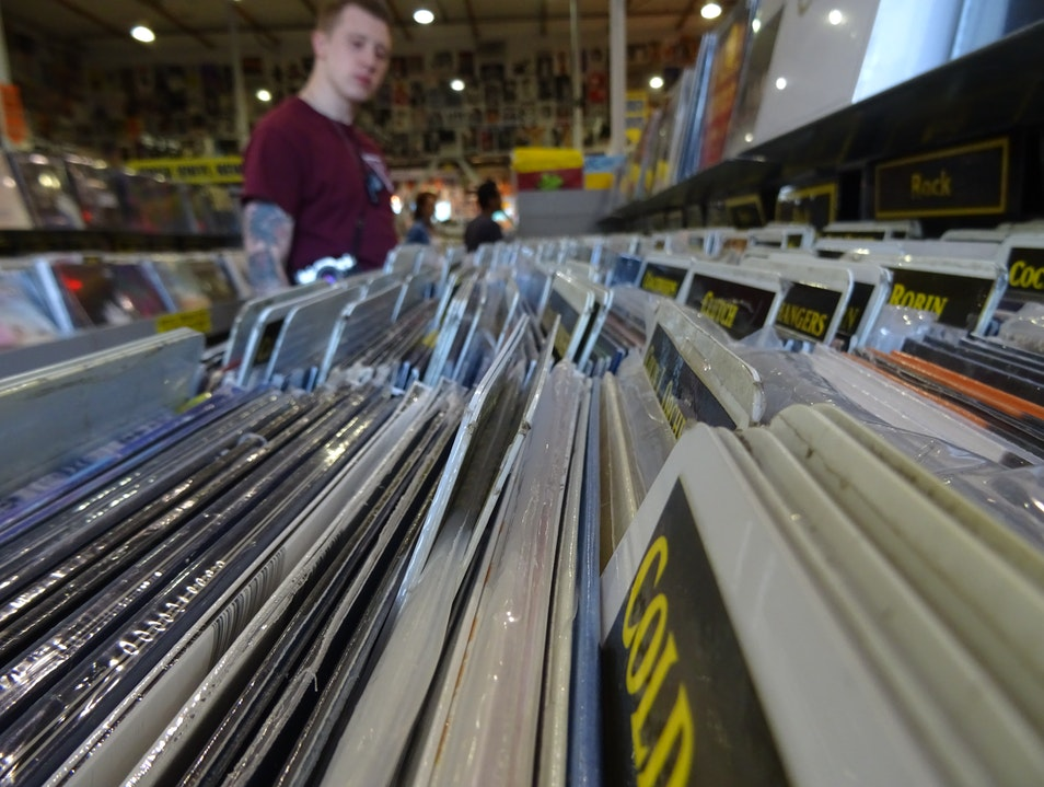 Amoeba's Music Mecca Los Angeles California United States