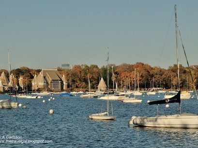 Lake Harriet Refectroy Minneapolis Minnesota United States
