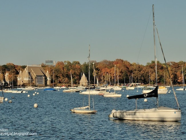 Fall's Beginning, Summer's End at Lake Harriet