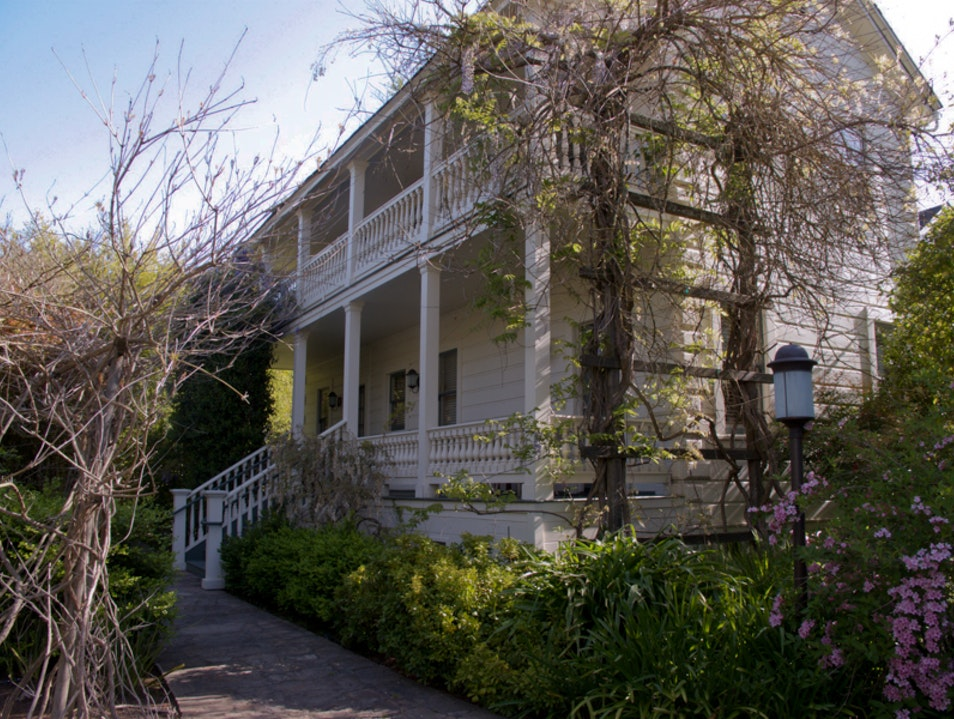 MacArthur Place: a lovely garden and art hotel in Sonoma Sonoma California United States