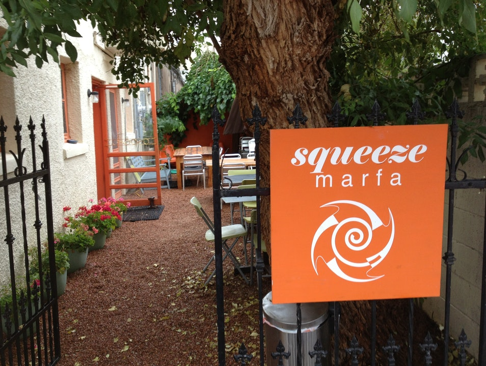 Squeeze in Serious Coffee and Breakfast in Marfa Marfa Texas United States