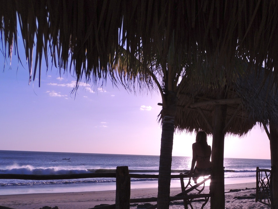 Sunsets and Palm Trees Rivas  Nicaragua