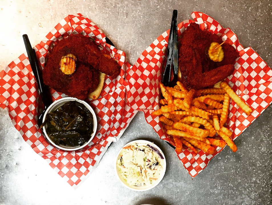 Hattie B's Hot Chicken Nashville Tennessee United States