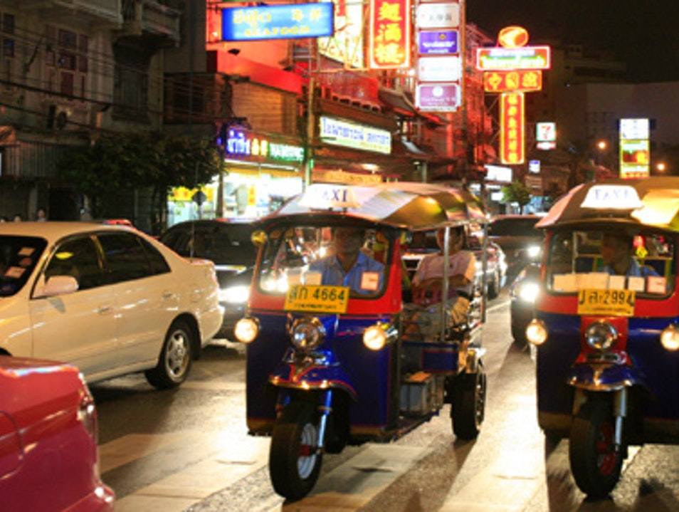 Cruise the City Streets in a Tuk-Tuk Bangkok  Thailand