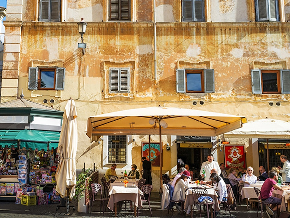 Picturesque Neighborhood in Rome Rome  Italy