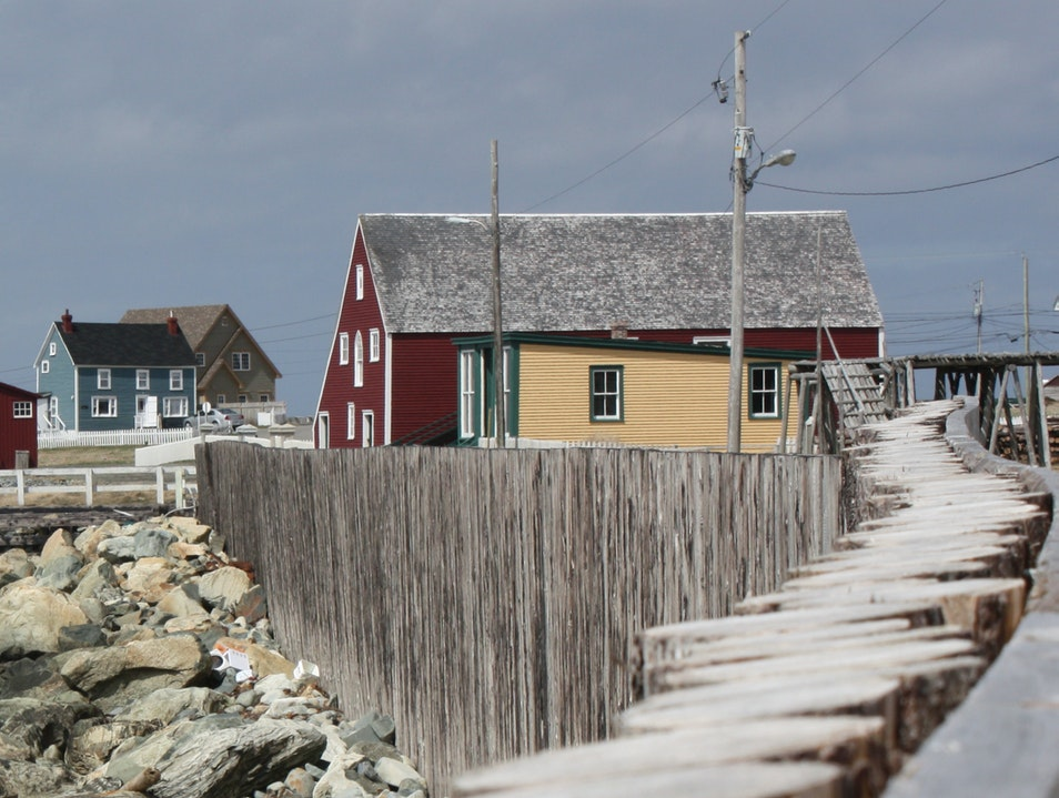 Mockbeggar Bonavista... a cool area beside the Thomas Mouland House Bonavista  Canada