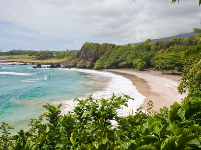Hāmoa Beach  Hawaii United States